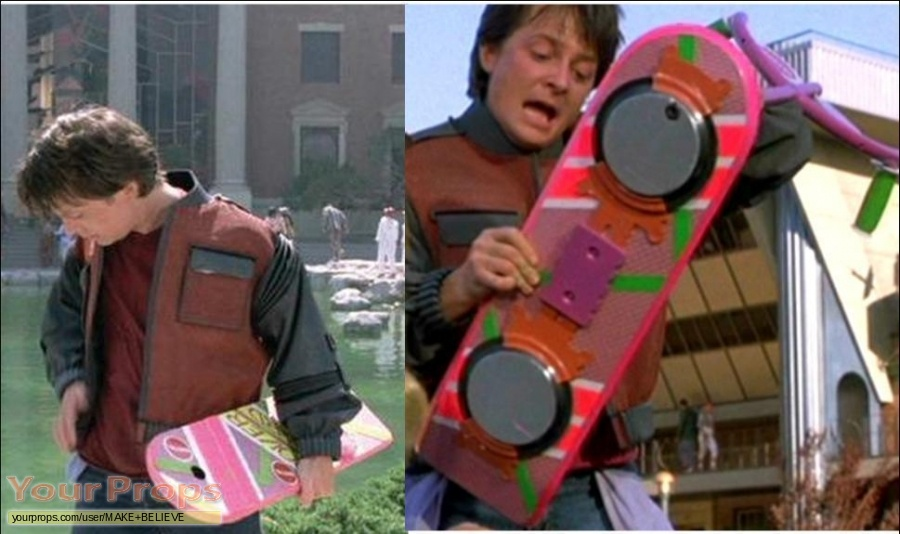 Back To The Future 2 made from scratch movie prop