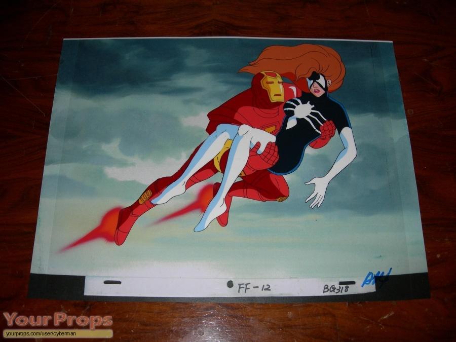 Iron Man  The Animated Series original production artwork