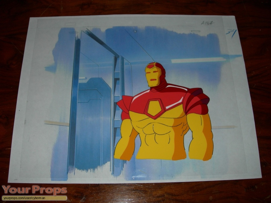 Iron Man  The Animated Series original production material