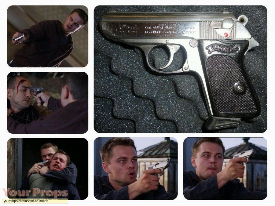 The Departed original movie prop weapon