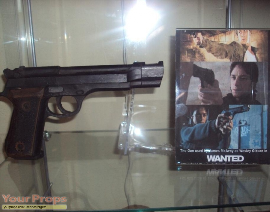 Wanted original movie prop weapon
