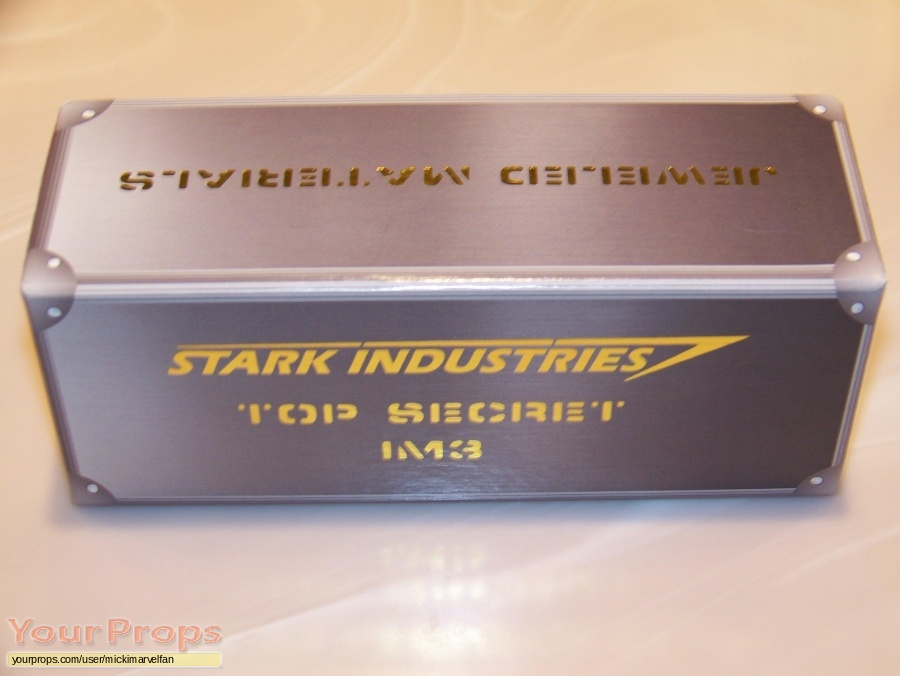 Iron Man 3 original film-crew items