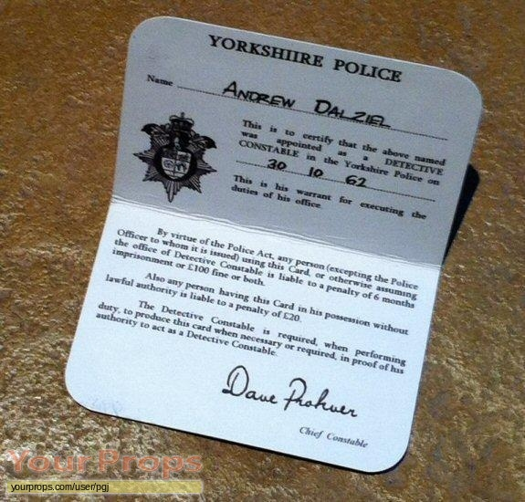 Dalziel   Pascoe replica movie prop