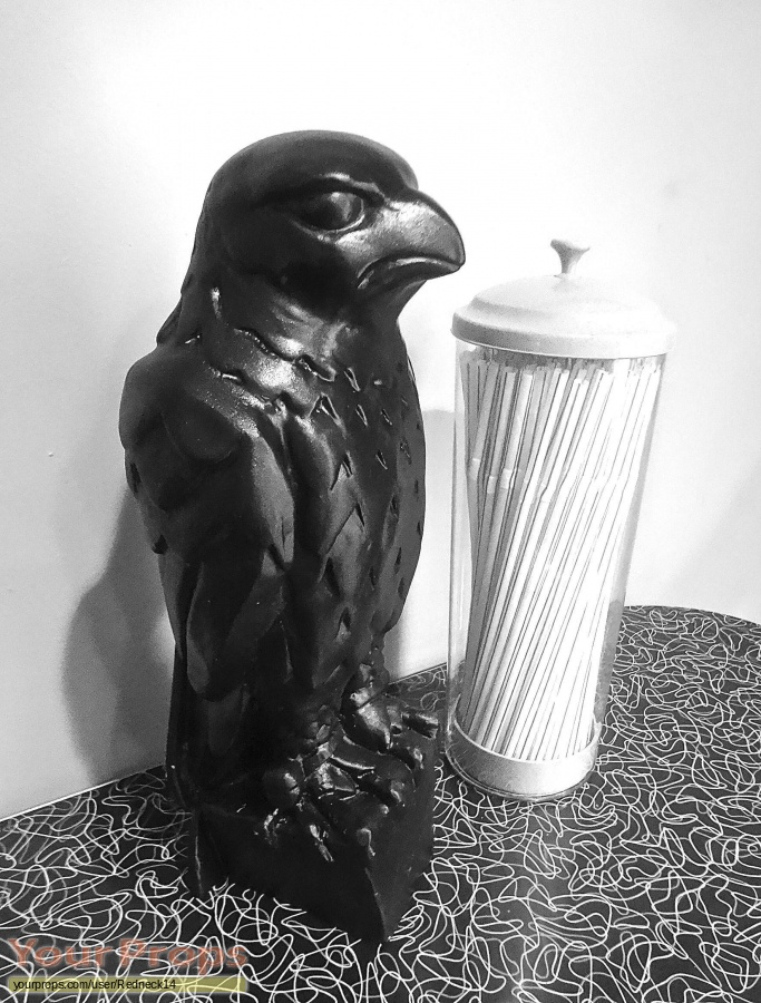 The Maltese Falcon made from scratch movie prop