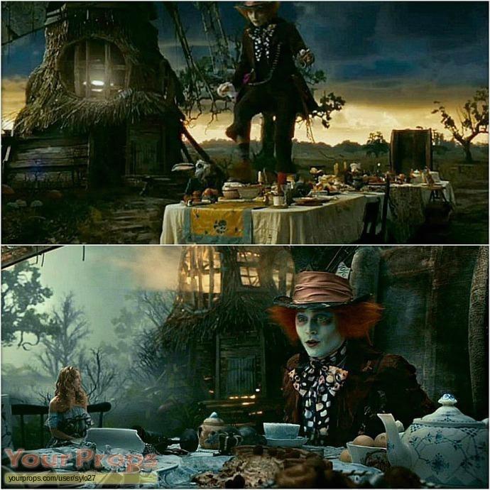 Alice In Wonderland original set dressing   pieces
