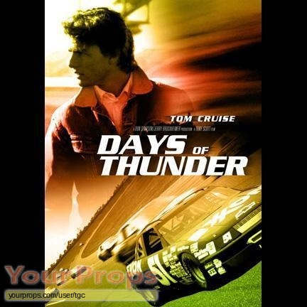 Days of Thunder original film-crew items