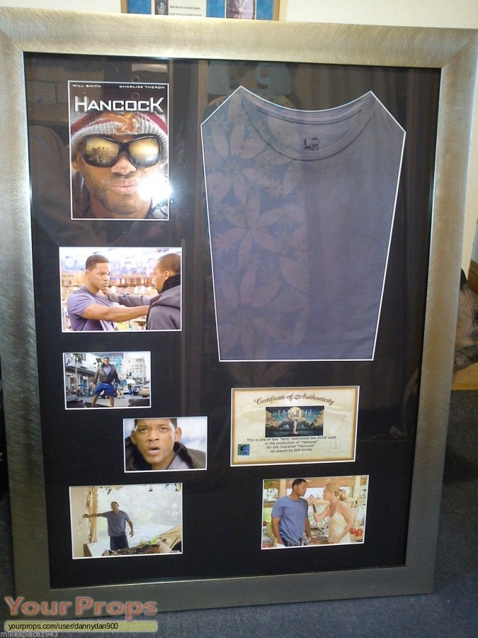 Hancock original movie costume