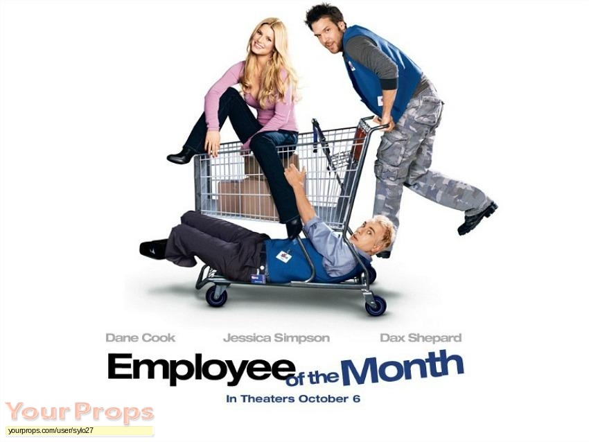 Employee of the Month original movie prop