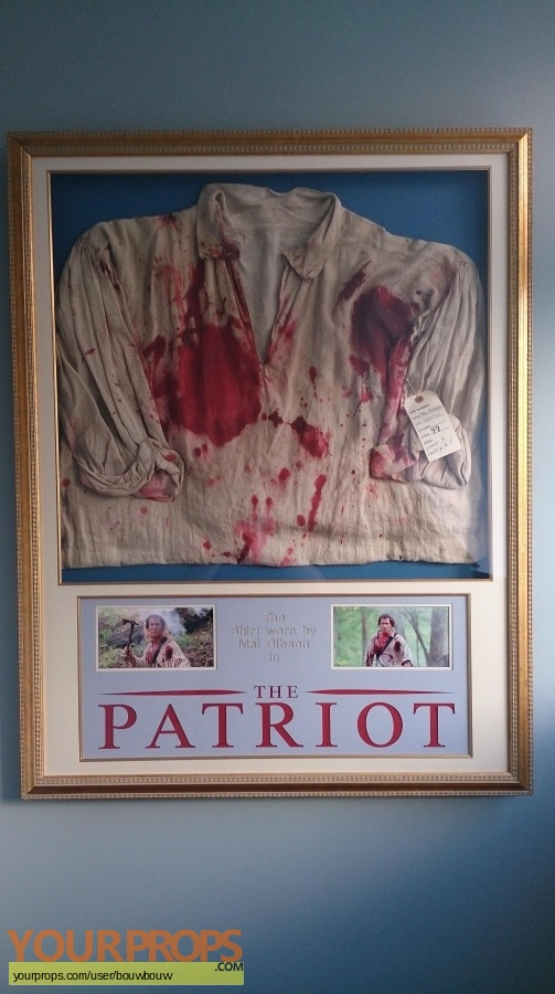The Patriot original movie costume