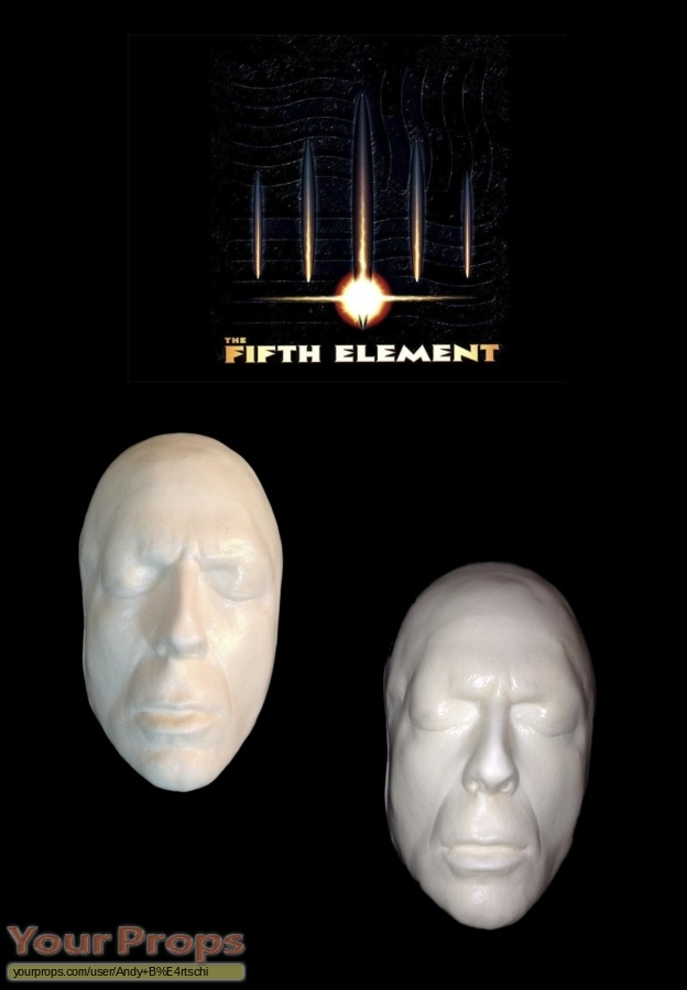 The Fifth Element (5th) original make-up   prosthetics
