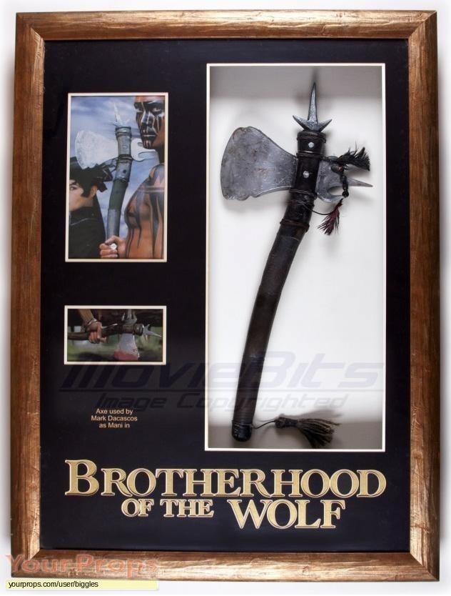 Brotherhood of the Wolf original movie prop