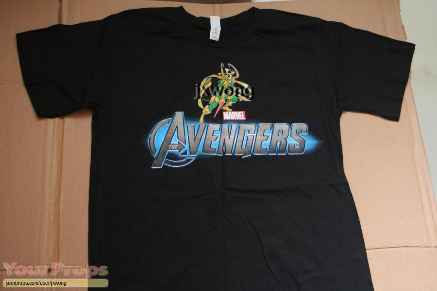The Avengers original film-crew items