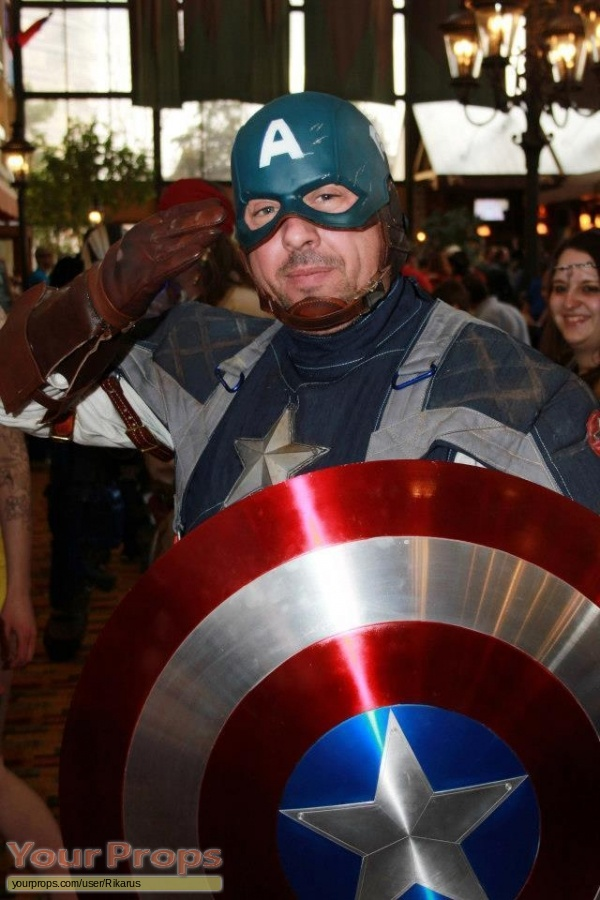 Captain America  The First Avenger made from scratch movie costume