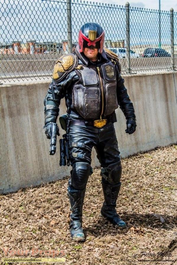 Dredd made from scratch movie costume