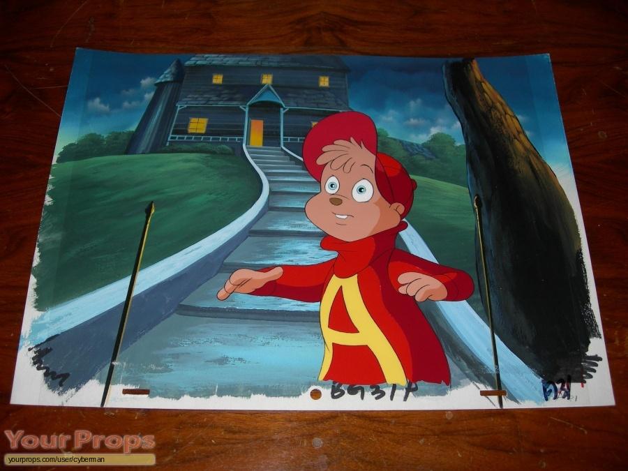 Alvin   The Chipmunks  original production artwork