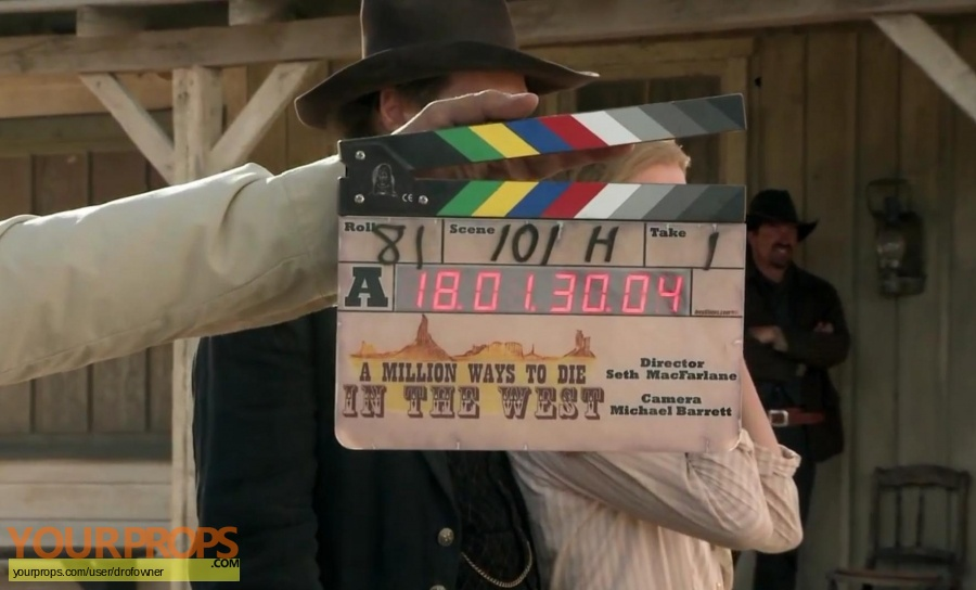 A Million Ways to Die in the West original production material