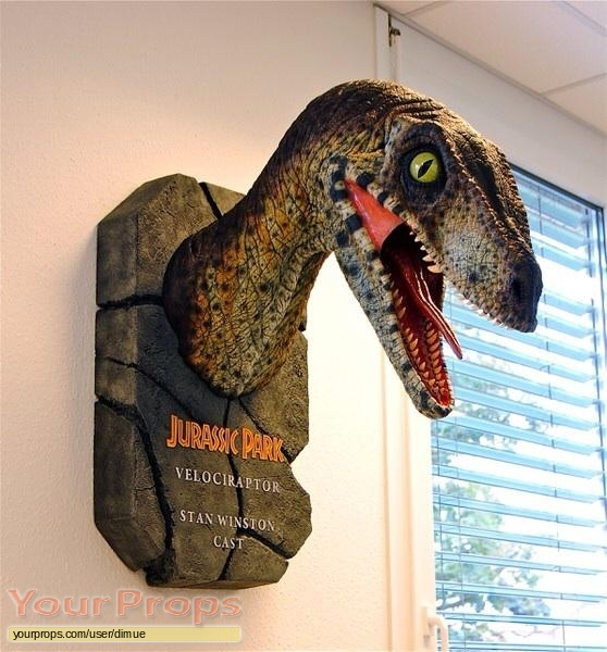 Jurassic Park 2  The Lost World replica production material