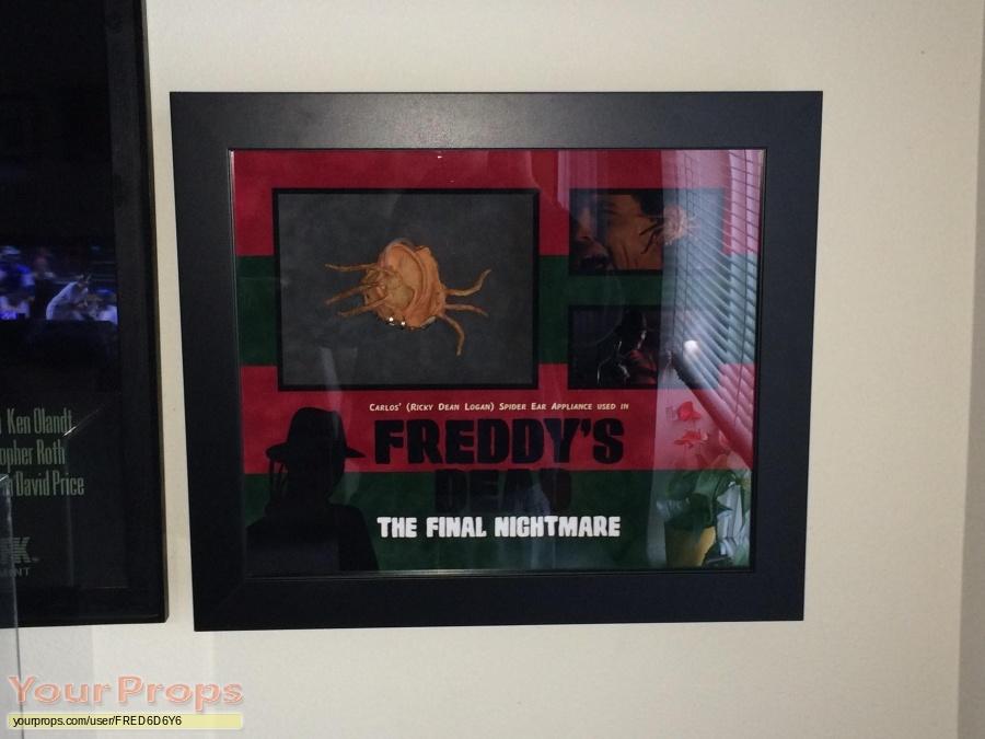 Freddys Dead  The Final Nightmare original movie prop
