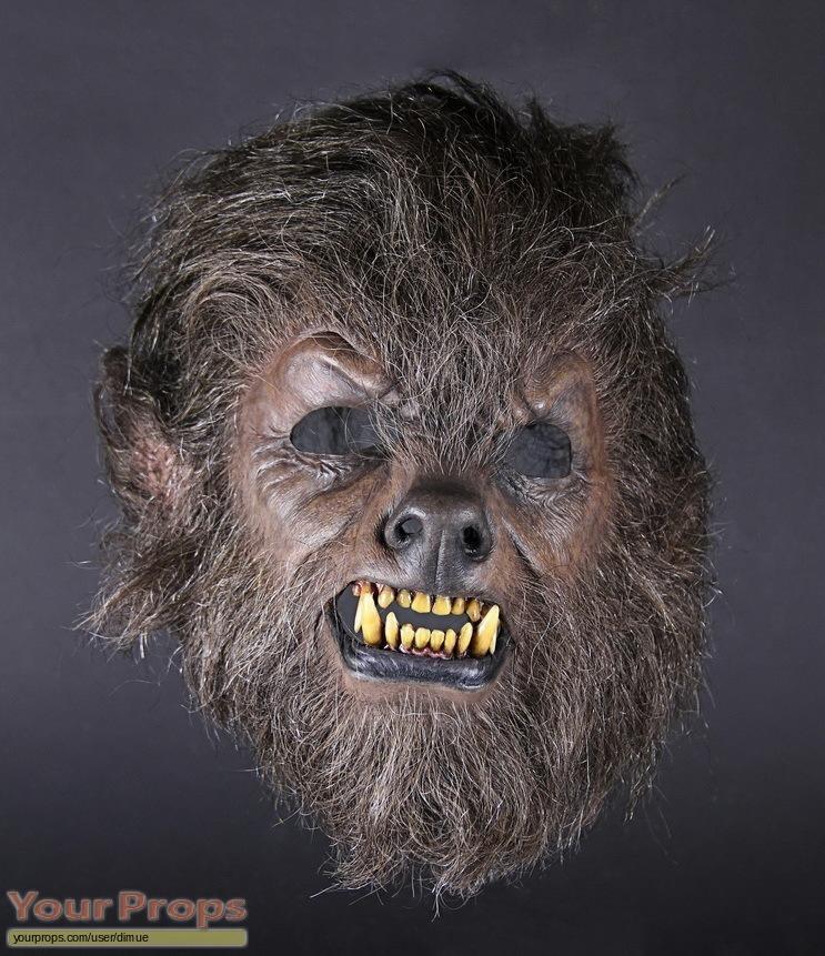 The Wolfman original make-up   prosthetics