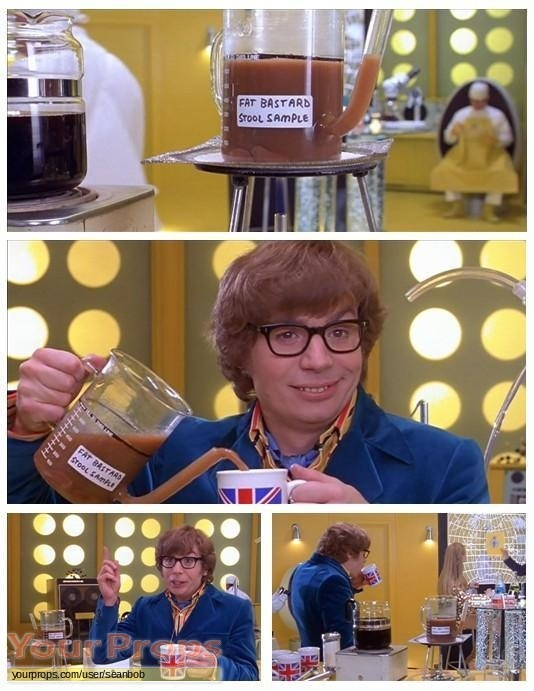 Austin Powers  The Spy Who Shagged Me original movie prop