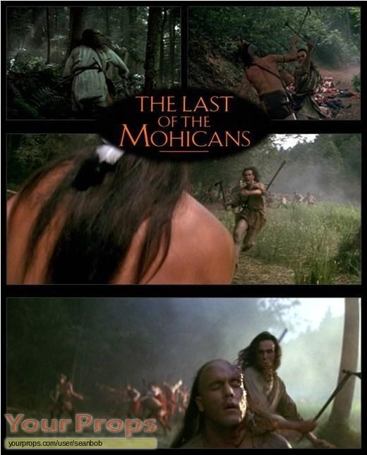 The Last of the Mohicans original movie prop