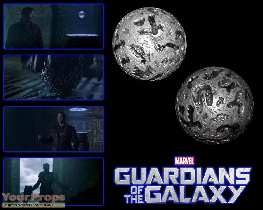 Guardians of the Galaxy made from scratch movie prop