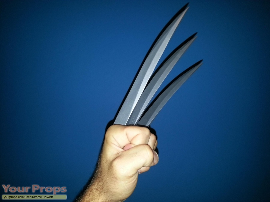 X-Men Origins  Wolverine original movie prop weapon