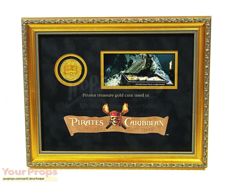 Pirates of the Caribbean  The Curse of The Black Pearl original movie prop