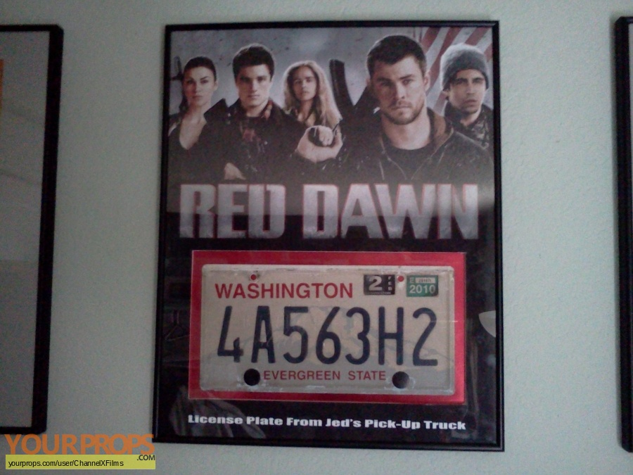 Red Dawn original movie prop