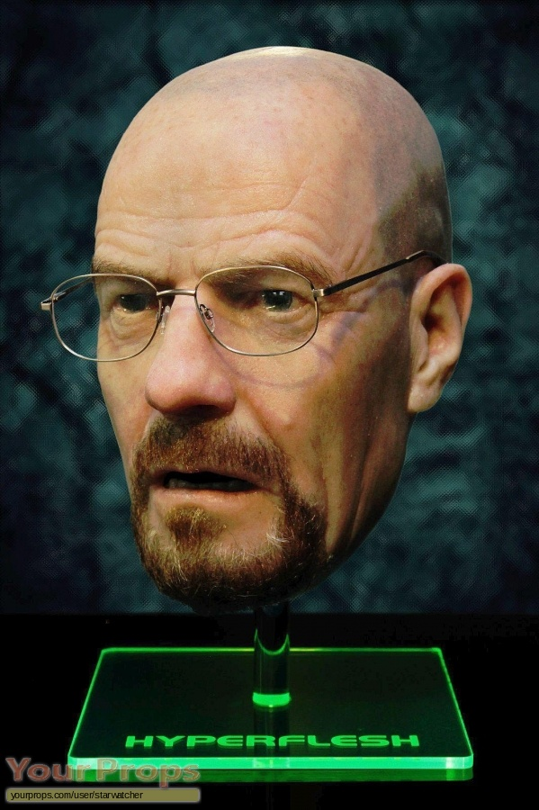 Breaking Bad replica make-up   prosthetics