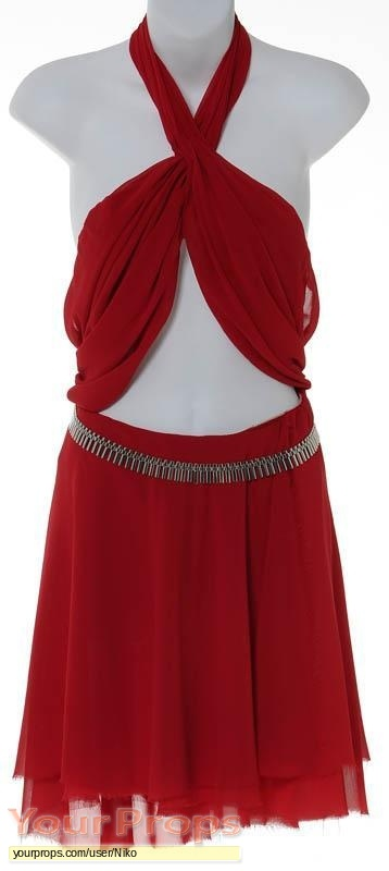 "Battlestar Galactica Number Six Red Crepe Dress from ""The ..."