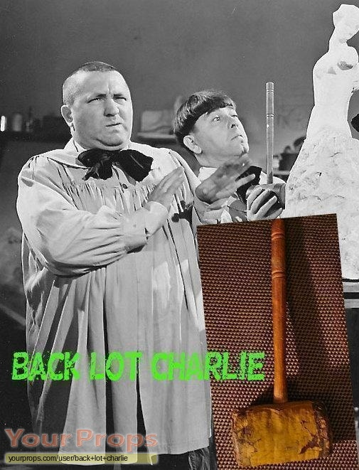 The Three Stooges (1930s) original movie prop