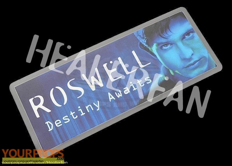 Roswell original film-crew items