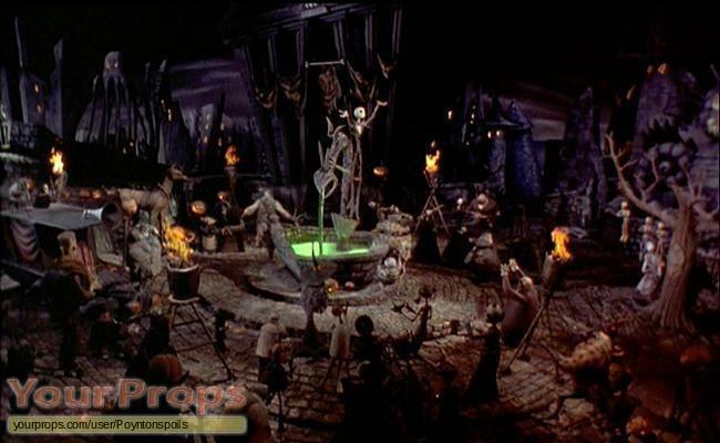 The Nightmare Before Christmas original movie prop