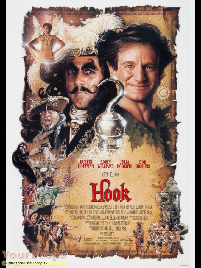 Hook replica movie prop