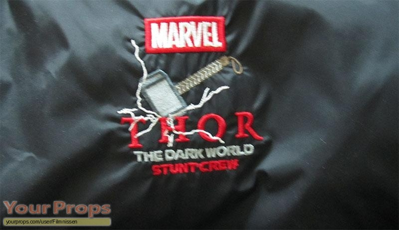 Thor  The Dark World original film-crew items