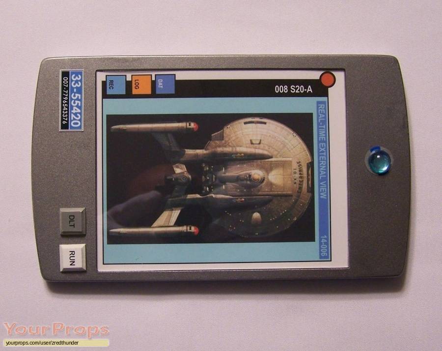 Star Trek  Enterprise replica movie prop