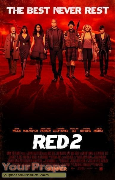 Red 2 original movie prop