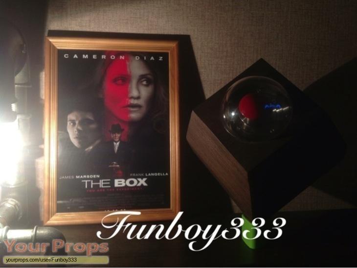 The Box replica movie prop
