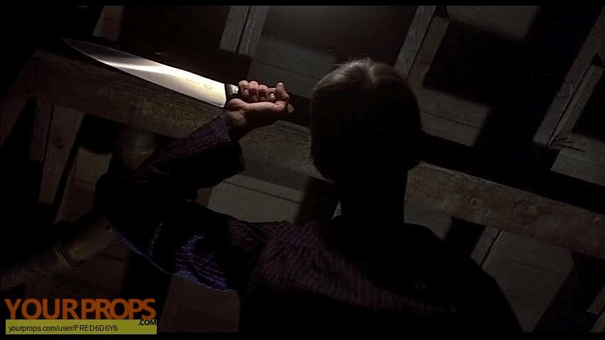 Psycho 2 original movie prop