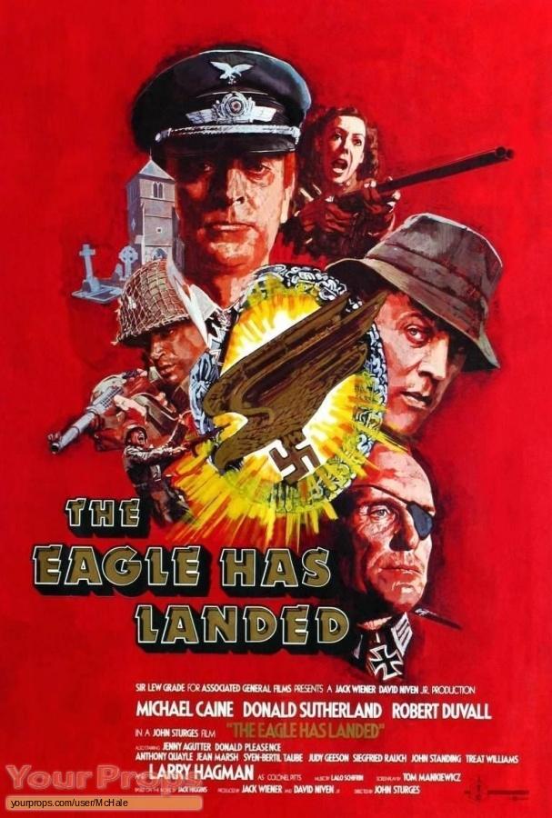 The Eagle Has Landed original movie prop