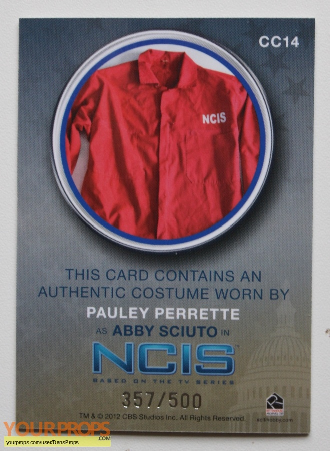 Navy NCIS  Naval Criminal Investigative Service swatch   fragment movie costume