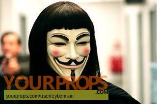 V for Vendetta replica movie costume
