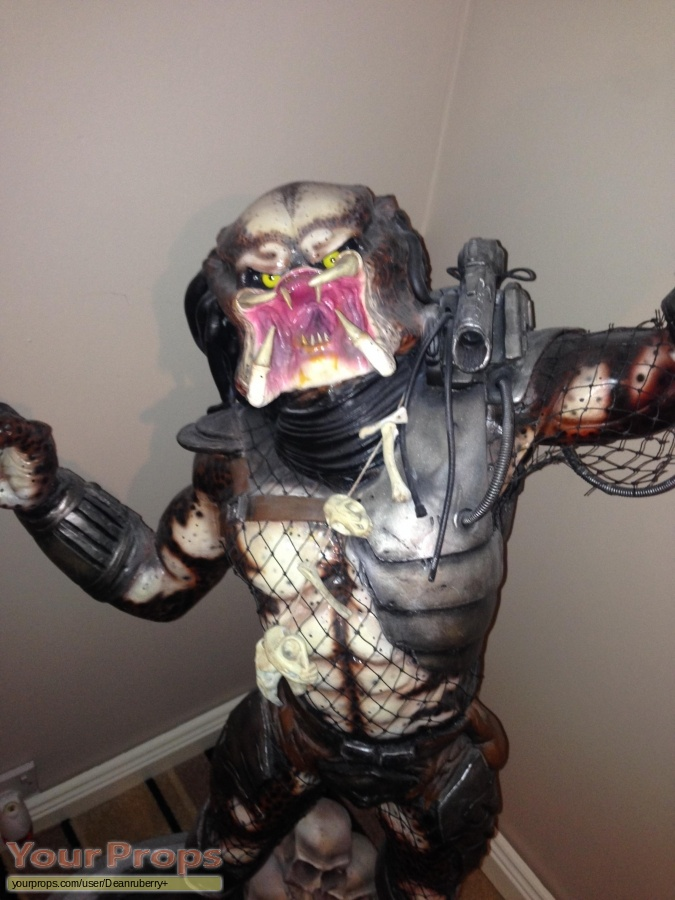 Predator made from scratch production material