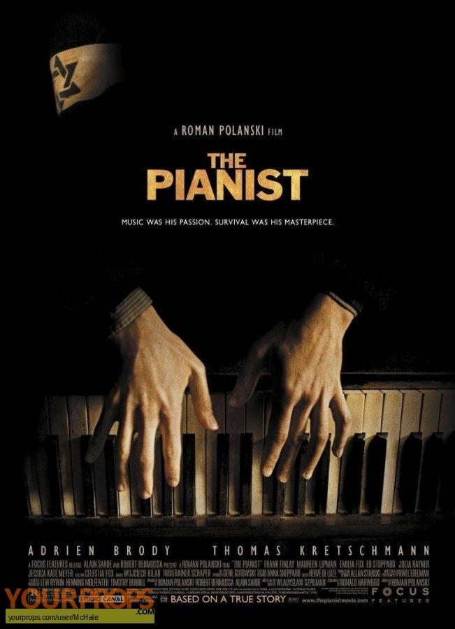 The Pianist original movie prop