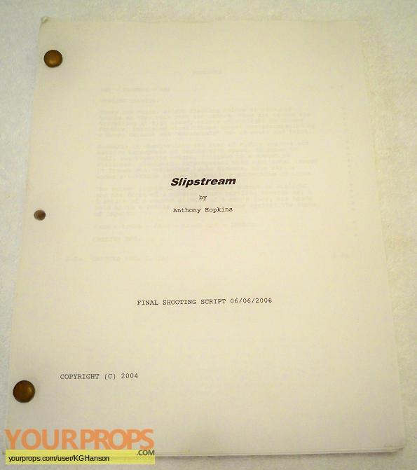 Slipstream original production material