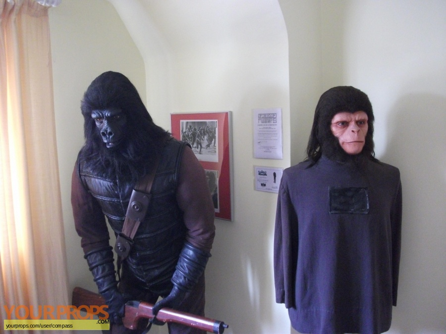 Escape from the Planet of the Apes replica make-up   prosthetics