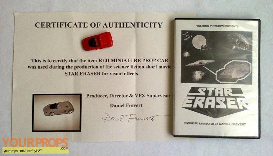 Star Eraser original model   miniature