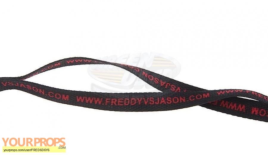 Freddy vs  Jason original film-crew items