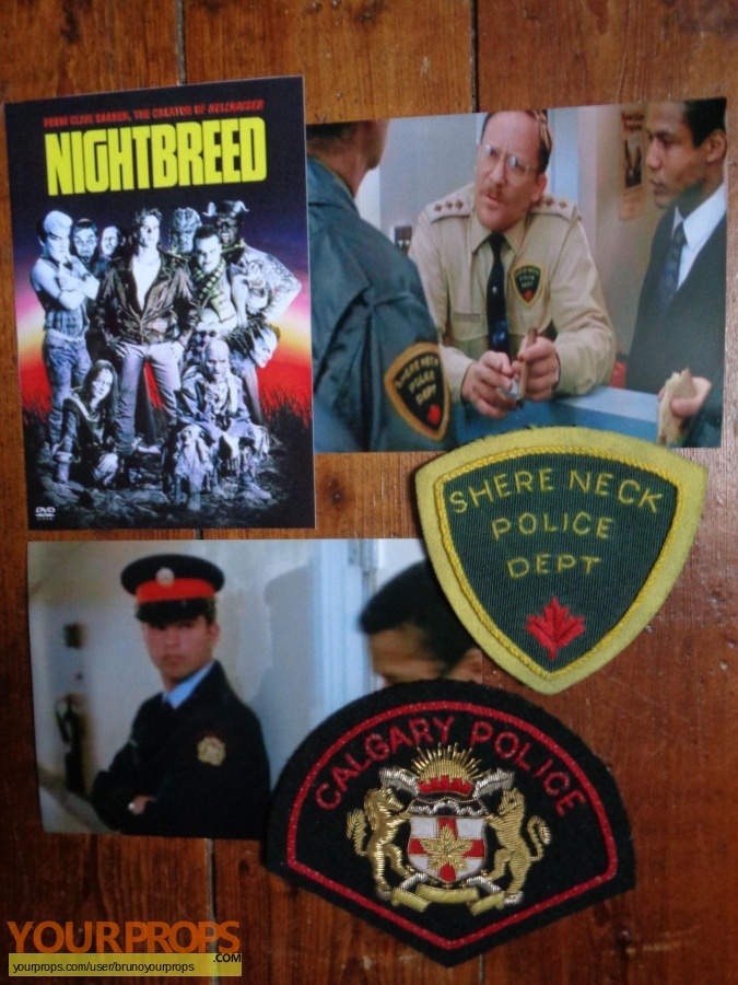 Nightbreed original movie prop